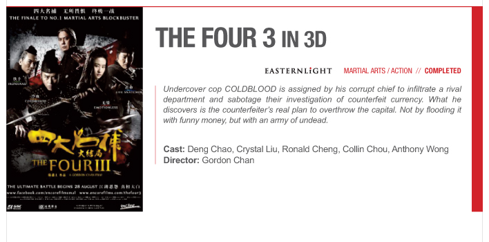 THE FOUR 3 in 3D