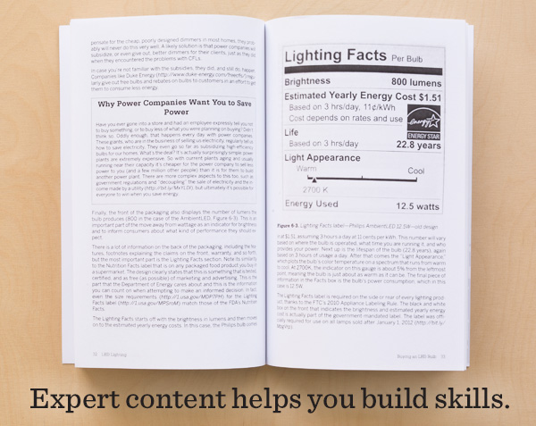 Expert content helps you build skills