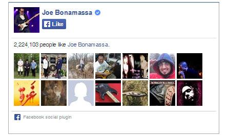 Joe Bonamassa on Facebook. 2,224,103 people like Joe Bonamassa. Yay!