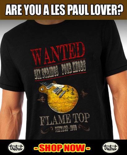 Tribut Apparel, 'When Music Really Matters'. Tribut 'Flame Top' Tee. Click here to buy now!