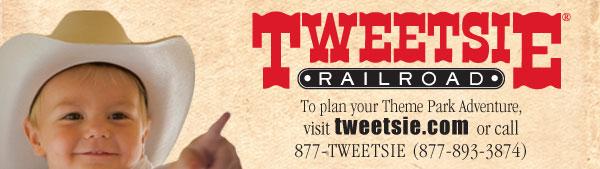 Tweetsie Railroad, tweetsie.com, 1-877-893-3874
