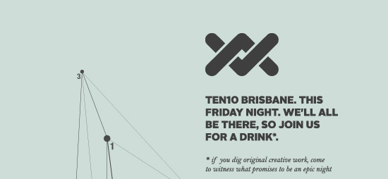 Ten10 Brisbane this Friday night. We'll all be there.